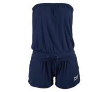 Strand-Jumpsuit blau