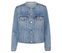 Jeansjacke 'altered Trucker' blue denim
