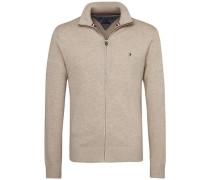 Pullover 'pima CTN Cashmere Z-Thru CF' beige