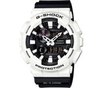 G-Shock Chronograph schwarz / weiß