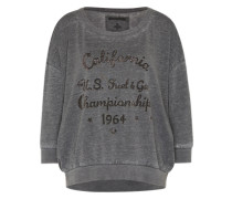 Sweater 'Cali' grau