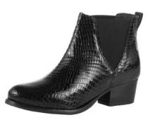 Ankle Boots im Chelsea-Stil '0604' schwarz