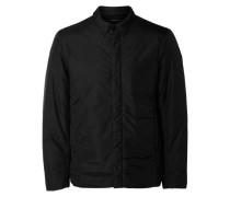 Nylon-Hemd-Jacke schwarz