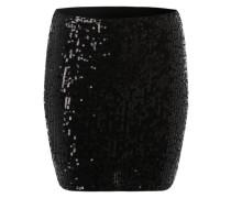 Paillettenrock 'Sequin' schwarz