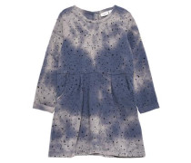 Sweat-Kleid 'nitkimmi' blau / grau / anthrazit