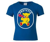 "T-Shirt ""Pustefix"" blau"