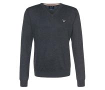 Pullover mit V-Ausschnitt anthrazit