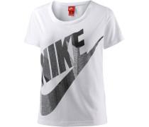 T-Shirt 'Skyscraper' weiß