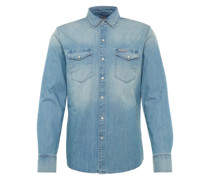 Hemd 'slow Blue' blue denim