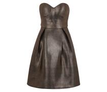 Kleid bronze