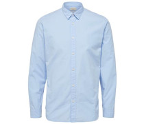 Hemd In schmaler Passform hellblau