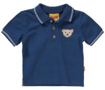 Baby Poloshirt für Jungen blau