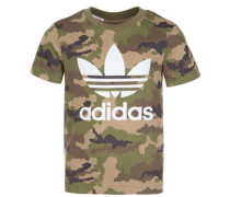 T-Shirt 'Trefoil' grün
