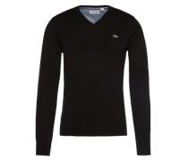 Pullover mit V-Ausschnitt schwarz