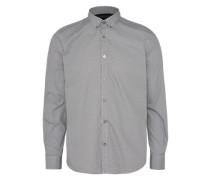 Gemustertes Hemd 'Floyd soft print mix shirt' silbergrau