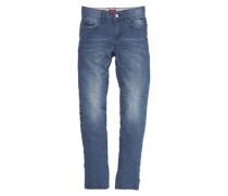 Skinny Seattle: Stretch-Jeans blau