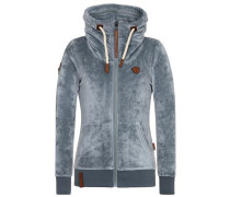 Female Zipped Jacket Monsterbumserin Mack III grau