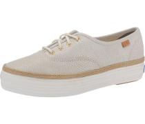 'Triple Dalmata Dot Lea' Sneakers beige