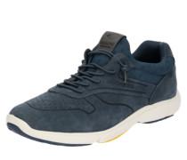 Sneaker mit Perforationen blau