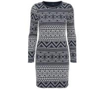 Jerseykleid 'Onlrose' dunkelblau / weiß
