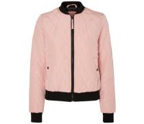 Bomber-Jacke pink