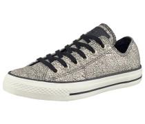 Ctas Oil Slick Leather Sneaker grau / silber