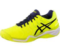 Tennisschuhe Gel-Resolution 7 Clay gelb / schwarz