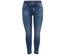 Skinny Jeans 'ONLCarmen' blau