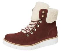 Winter-Stiefel rostrot