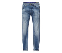 'Larkee' Jeans Regular Fit 853P hellblau