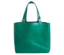 Shopper mit herausnehmbarer Innentasche grün
