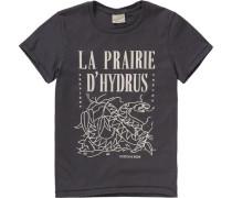 T-Shirt für Jungen anthrazit