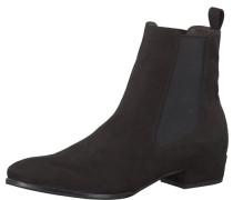 Chelsea Boots Suede schwarz