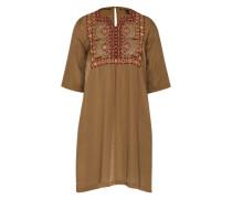 Kleid im Tunika-Stil oliv
