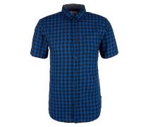 Extra Slim Baumwollhemd mit Muster