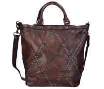 Camelia Shopper Tasche Leder 28 cm braun