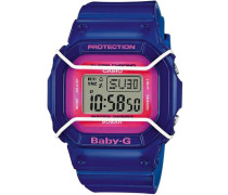 'Baby-G Chronograph' »Bgd-501Fs-2Er« blau / dunkelblau / pink