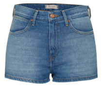 'Retro Pin up' Jeans Shorts blue denim