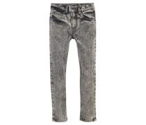 Jeans Regular-fit mit schmalem Bein für Jungen grau