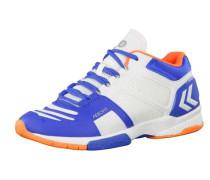 Handballschuhe 'Aerocharge HB 220 60402-5279' blau / orange / weiß