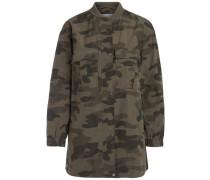 Militär-Jacke grün / khaki / oliv