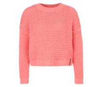 Strickpullover koralle / rosa