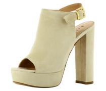 Damen Sandalette hellbeige
