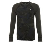 Sweatshirt 'Jirgi r t l/s' dunkelgrau / schwarz