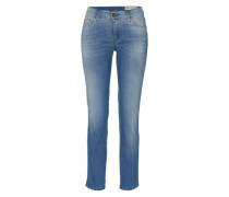 'Sandy' Straight-Cut Denim blau