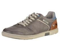 Sneaker hellblau / cognac / grau