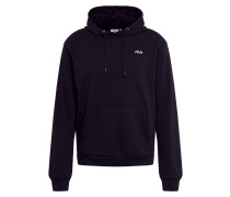 Sweatshirt 'Edison' schwarz / weiß