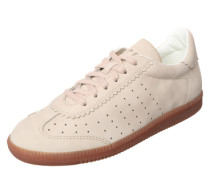 Sneaker 'Trainee' in Leder-Optik beige
