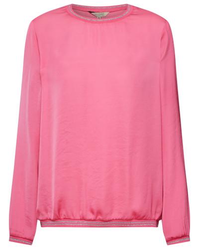 Bluse 'Lavia Satin' pink