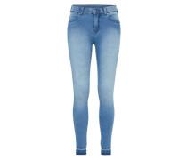 'Lexy' Skinny Jeans blau